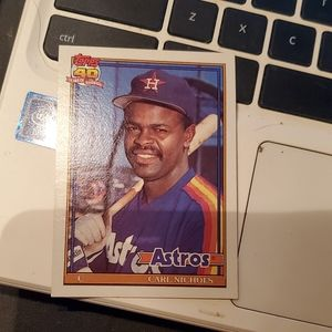 Carl Nichols baseball card